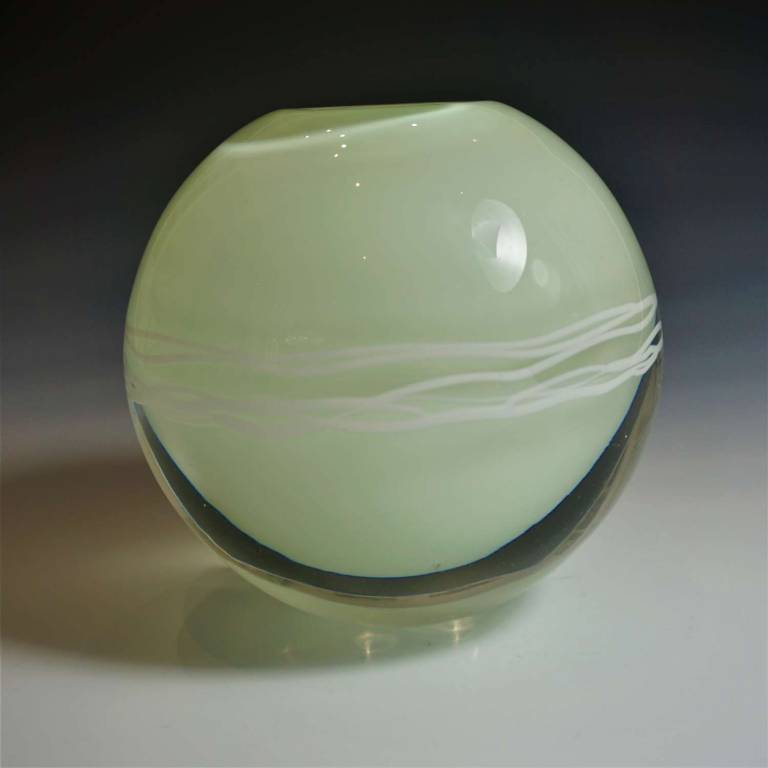 Elin Isaksson - Ripple Vase Light Green