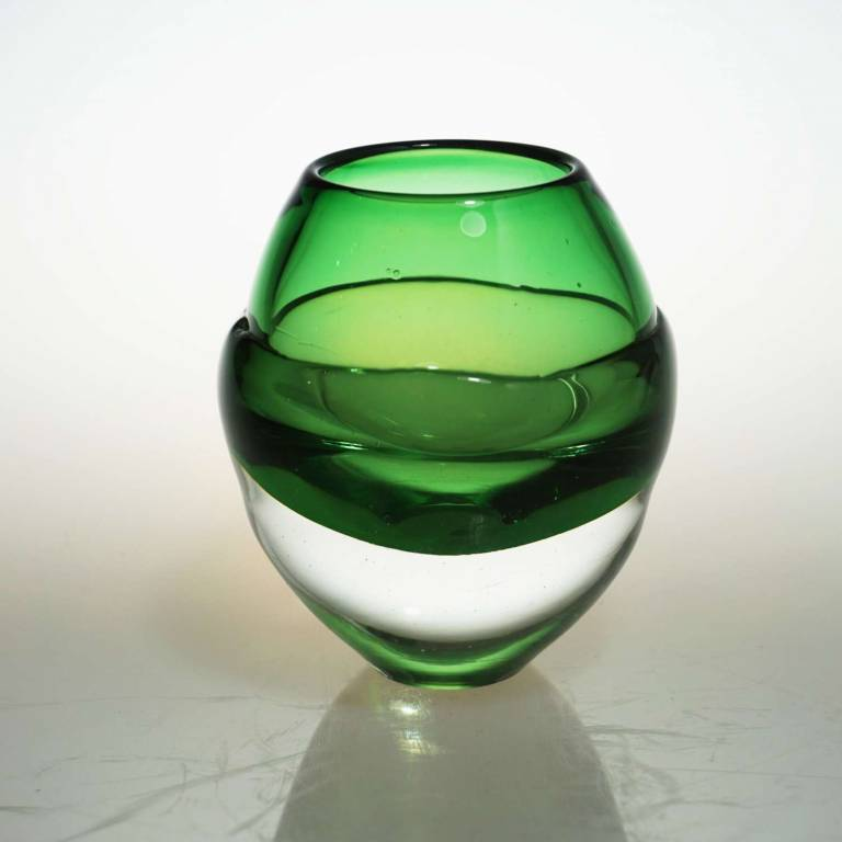 Elin Isaksson - Liquid Ice Candle Holder Green