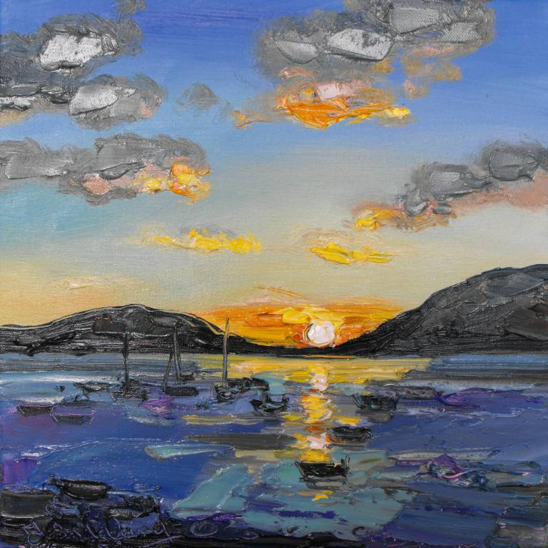 Boats at Sunset, Ullapool