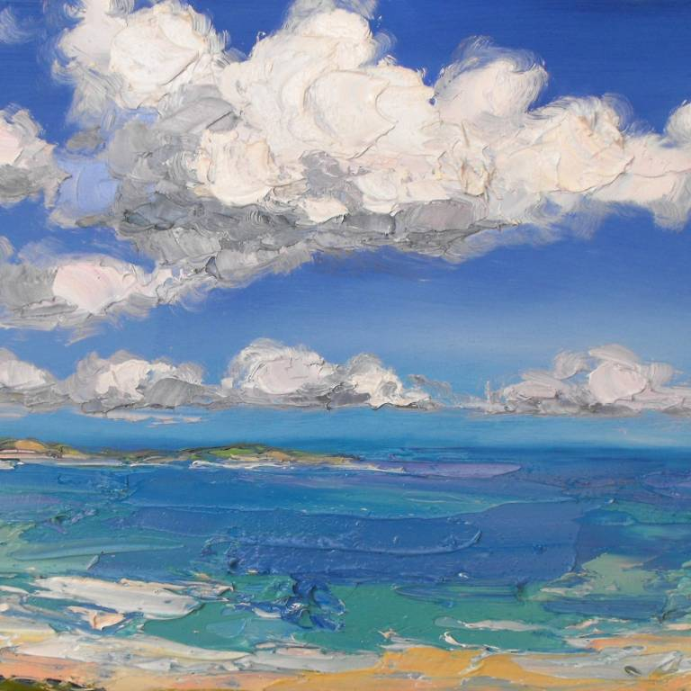 Clouds, Coldbackie Beach