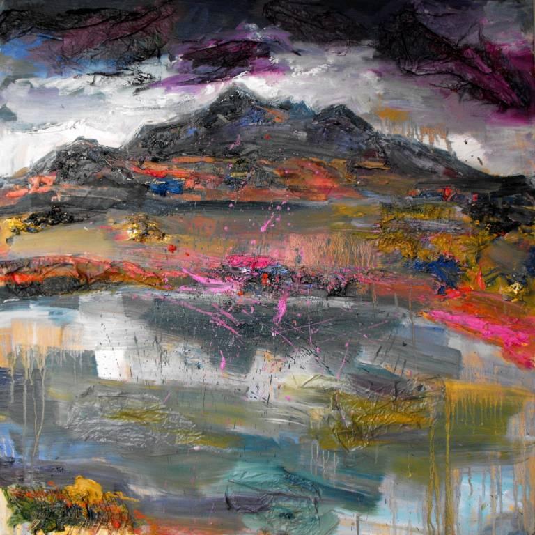 Judith Bridgland - Driving Rain, the Cuillins