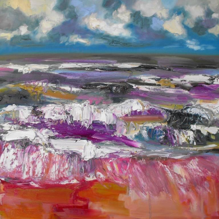 Judith Bridgland - Rough Lilac Sea