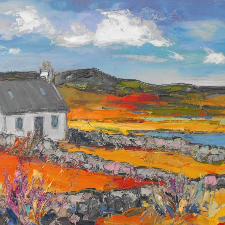Judith Bridgland - Cottage near Clachtoll, Wester Ross