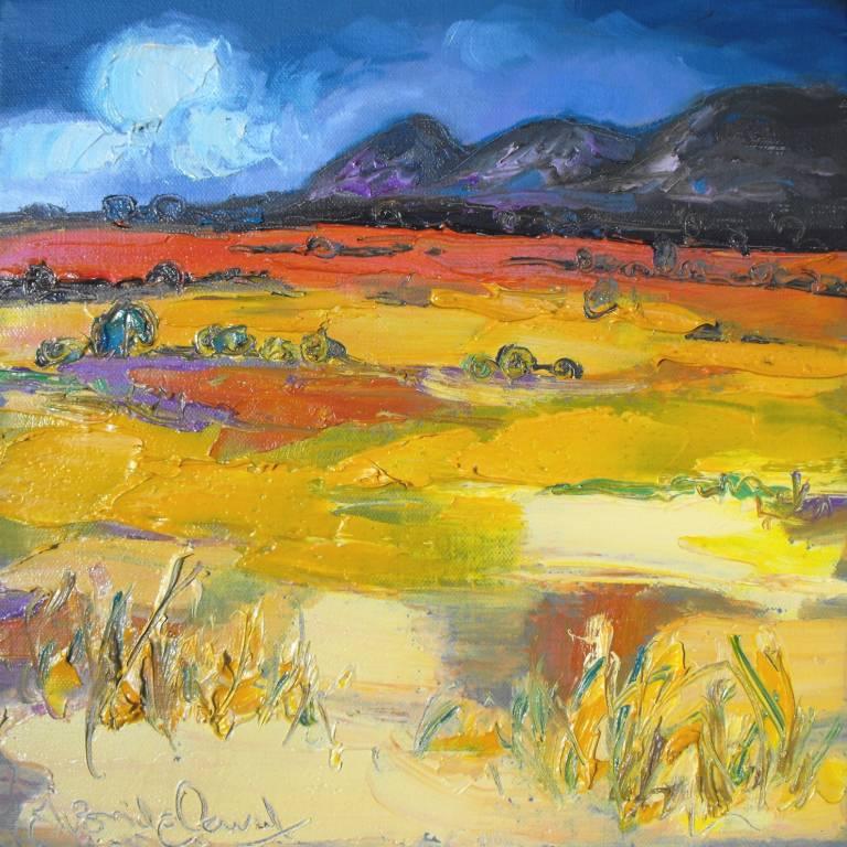 Judith Bridgland - Yellow Moorland, the Campsies