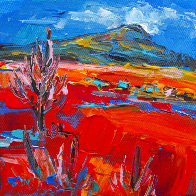 Judith Bridgland - Big Cloud over Hill, Argyll