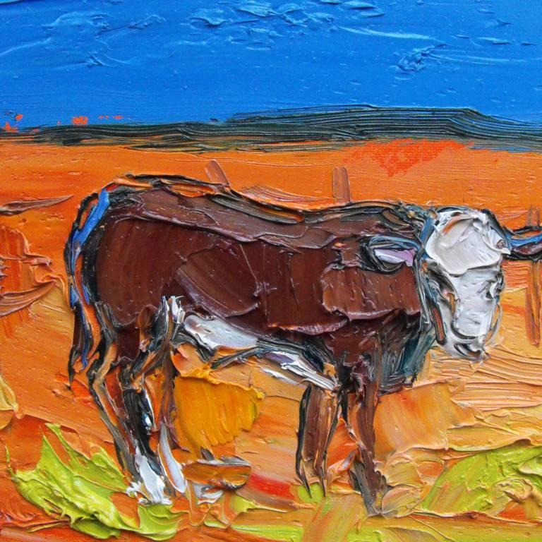 Judith Bridgland - Little Brown Calf