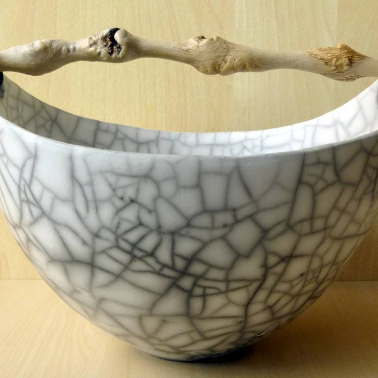 Anne Morrison - Skye Beach Crackle Bowl