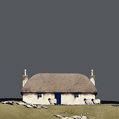 Ron  Lawson - Hebridean Croft House (Limited Edition Print)