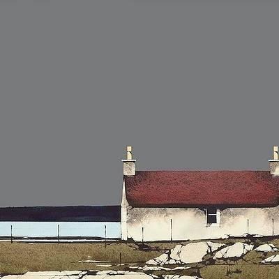 Ron  Lawson - North Bay, Barra (Limited Edition Print)