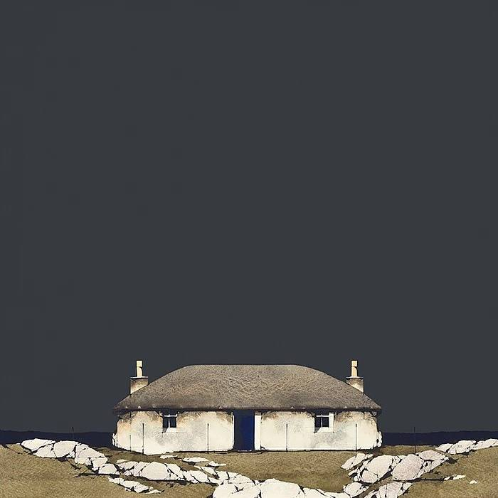 Ron  Lawson - South Uist Croft House, (Limited Edition Print)