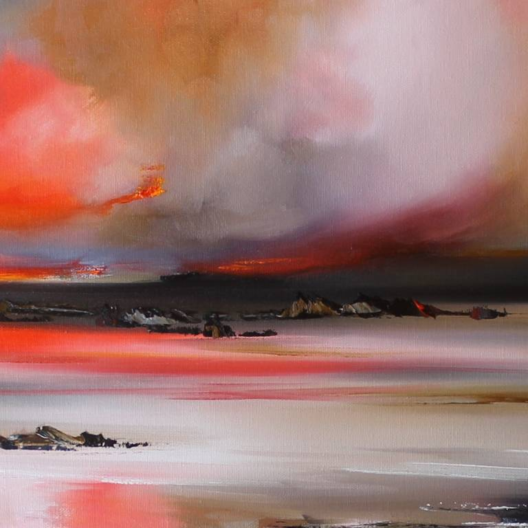 Rosanne Barr - Sunset and Thunderous Clouds