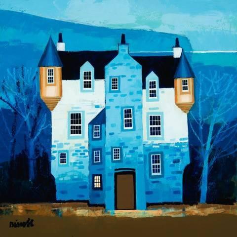 George Birrell - Castle on the Estuary