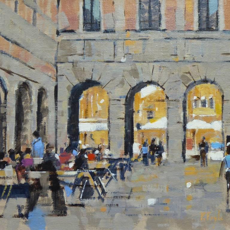 Peter Foyle - Evening near the Rialto, Venice