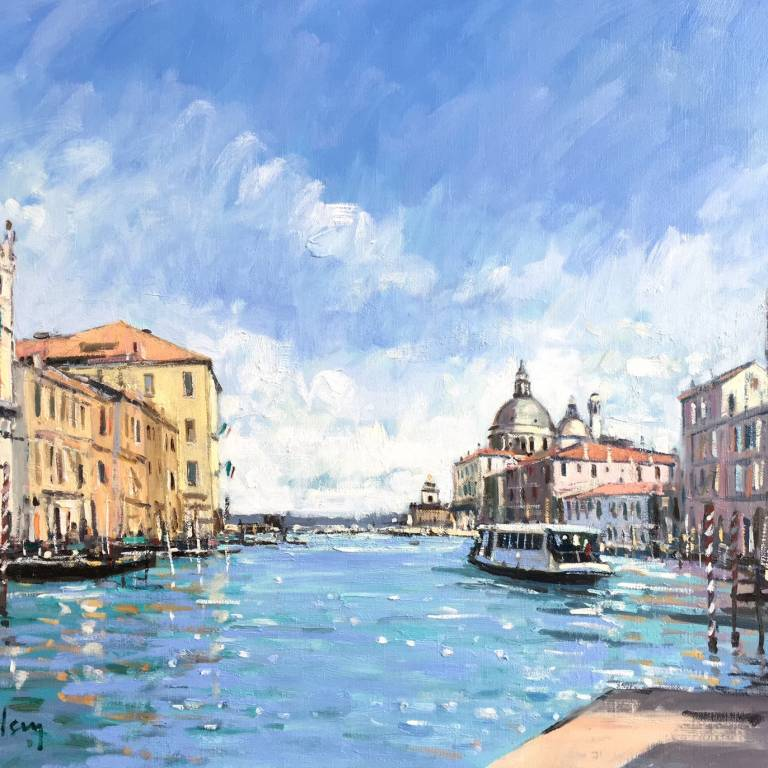 Robert Kelsey - Light on the Grand Canal