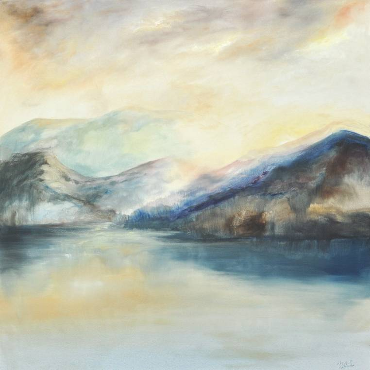 Madeleine Gardiner - Sunrise Over Loch
