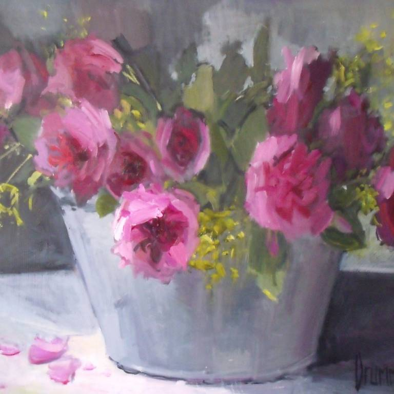 Marion Drummond PAI - A Bucket of Roses