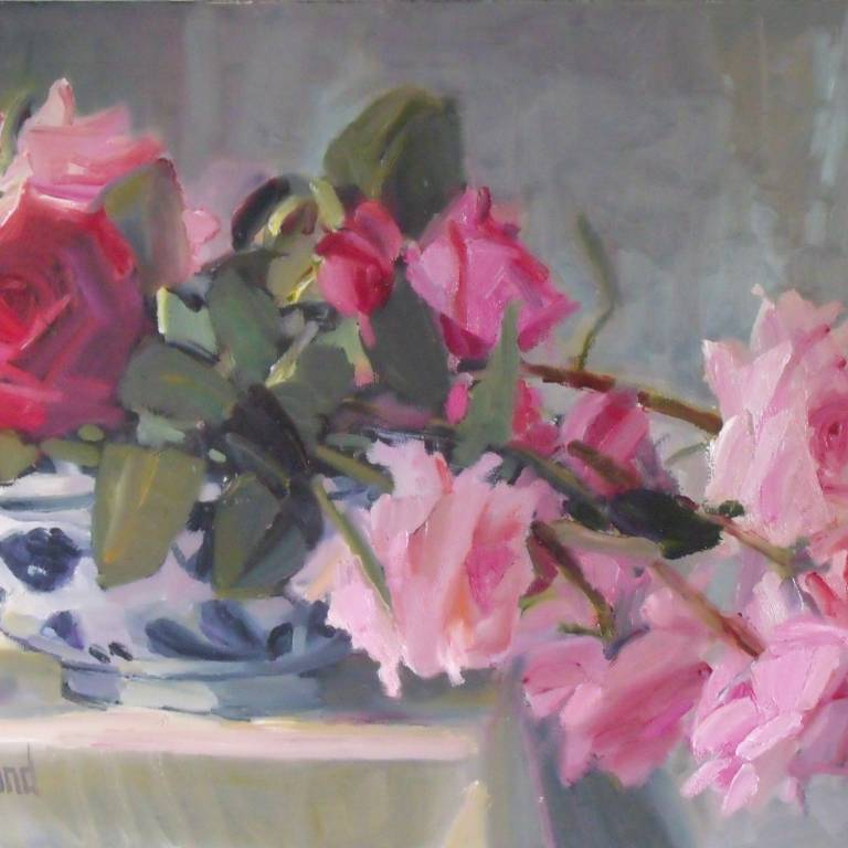 Marion Drummond PAI - Roses from the Garden