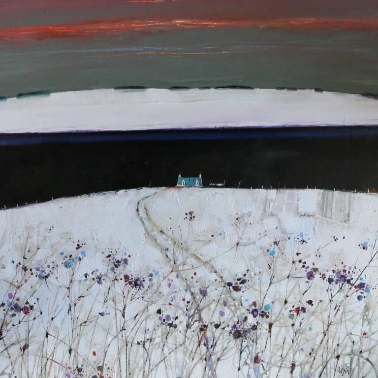 Gordon Wilson - Cobalt Roof, Loch Venachar