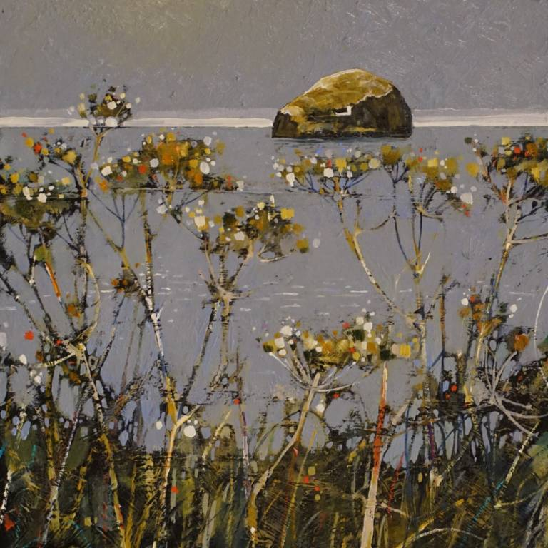 Gordon Wilson - Sunbathed Bass Rock