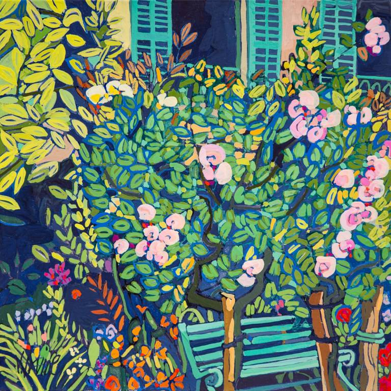 Jennifer Irvine RGI RSW - Monet's Garden, Giverny