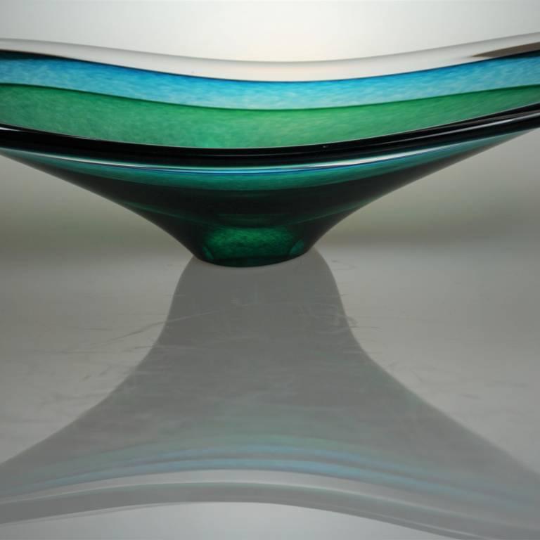 Richard Glass - Saturn Bowl Aqua