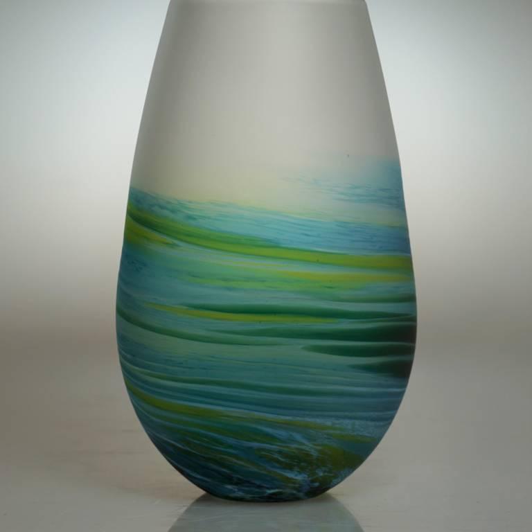 Richard Glass - Rockpoool Bud Tall Aqua