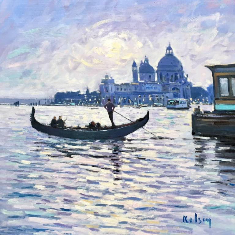 Robert Kelsey  DA, M Univ, PAI, FRSA - Venice Nocturne