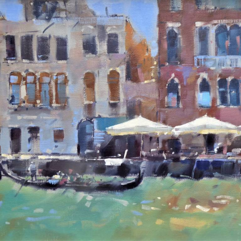 Peter Foyle - Parasols on the Giudecca, Venice