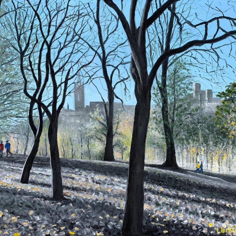 Vicki Braham - Autumn Sun, Kelvingrove