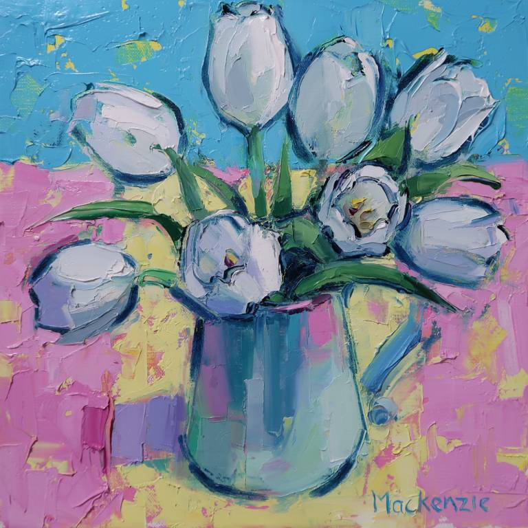 Jennifer Mackenzie - White Tulips