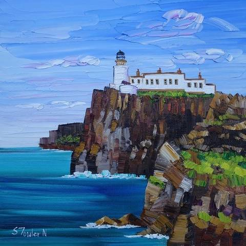 Sheila Fowler - Neist Point Lighthouse Skye