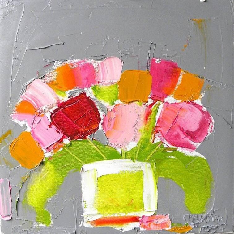 Alison McWhirter - Spring Tulips