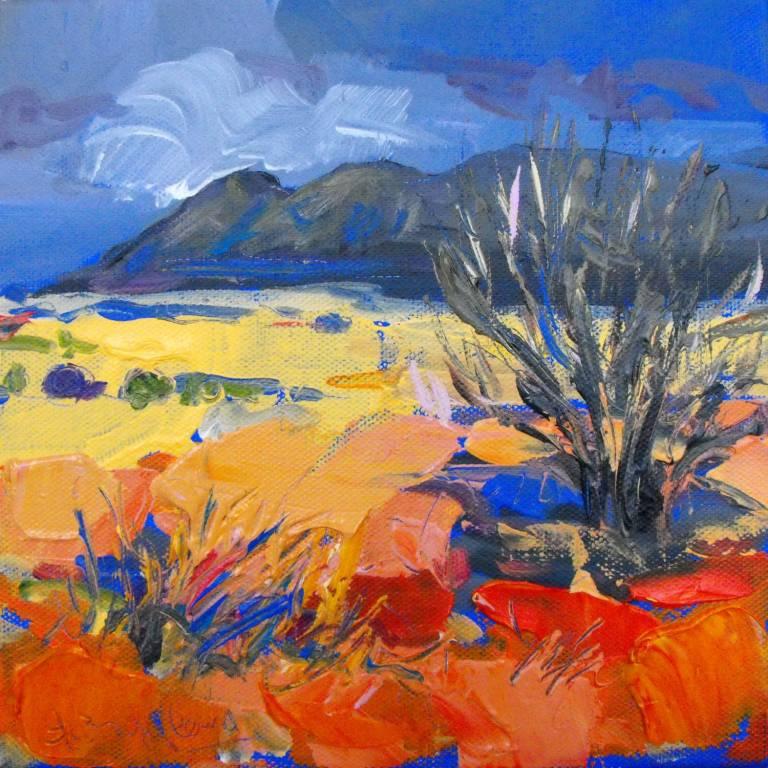 Judith Bridgland - Autumn Tree, The Campsies