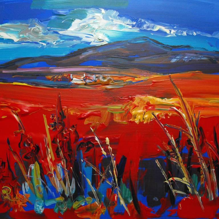 Judith Bridgland - Red Roofed Cottage, Clashnoi