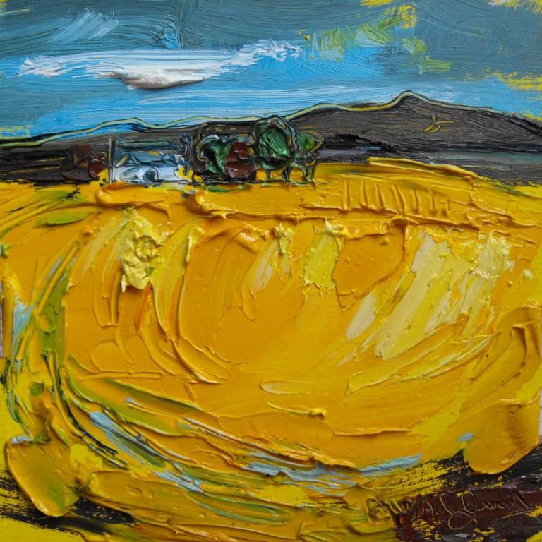 Judith Bridgland - Farm And Farmhouse, Perthshire