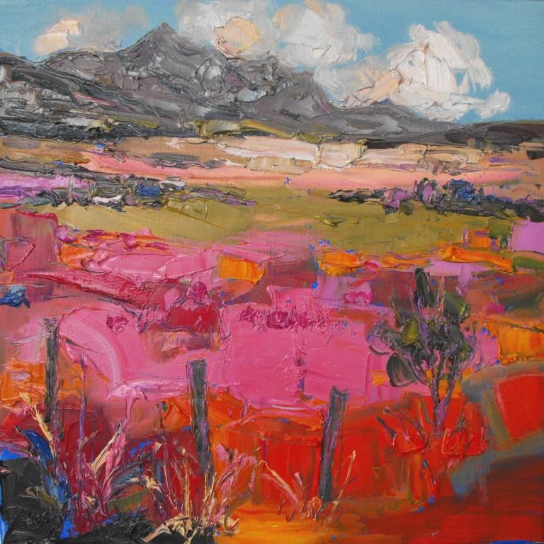 Judith Bridgland - Pink Grasses, Ben Loyal
