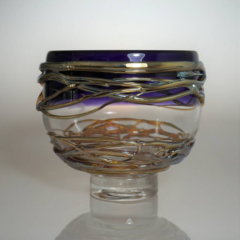 Allister  Malcolm - Golden Trailing Bowl Small