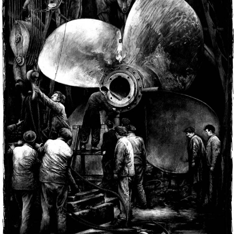 Ryan Mutter - How Many Shipbuilders (Limited Edition Print)