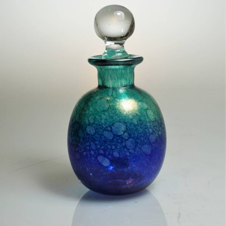 Andrew Sanders & David Wallace - Iridescent Oil Spot Bottle