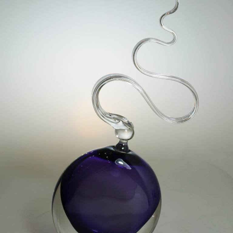 Bob Crooks - Purple Wave Scent Bottle