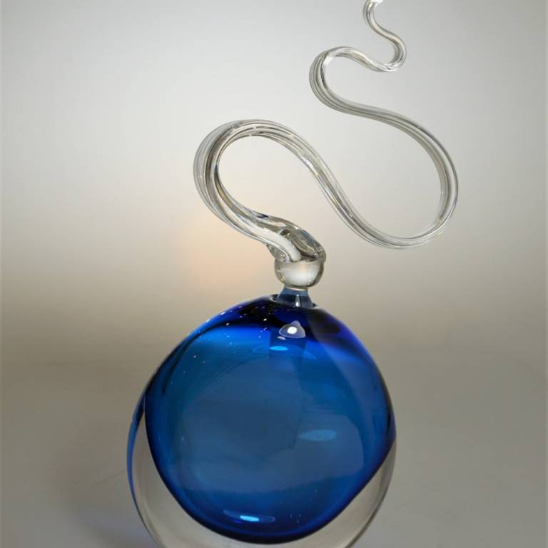 Bob Crooks - Blue Wave Scent Bottle