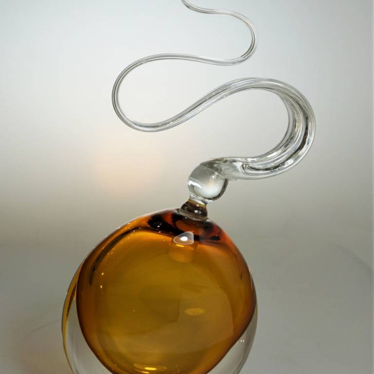 Bob Crooks - Amber Wave Scent Bottle