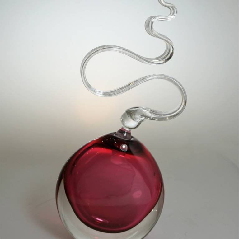 Ruby Wave Scent Bottle