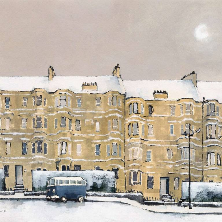 Dominic Cullen - Onslow Drive, Snow