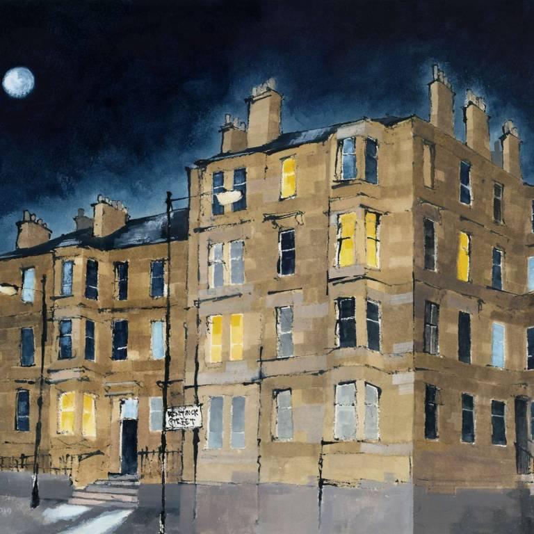 Full Moon, Bentinck Street