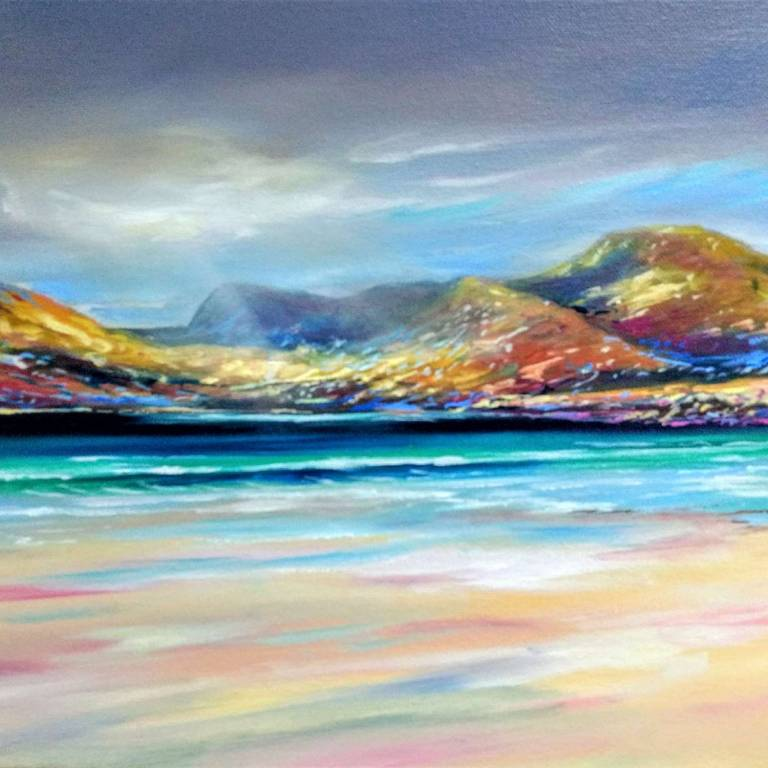 Douglas Roulston - Colourful Sands At Luskentyre