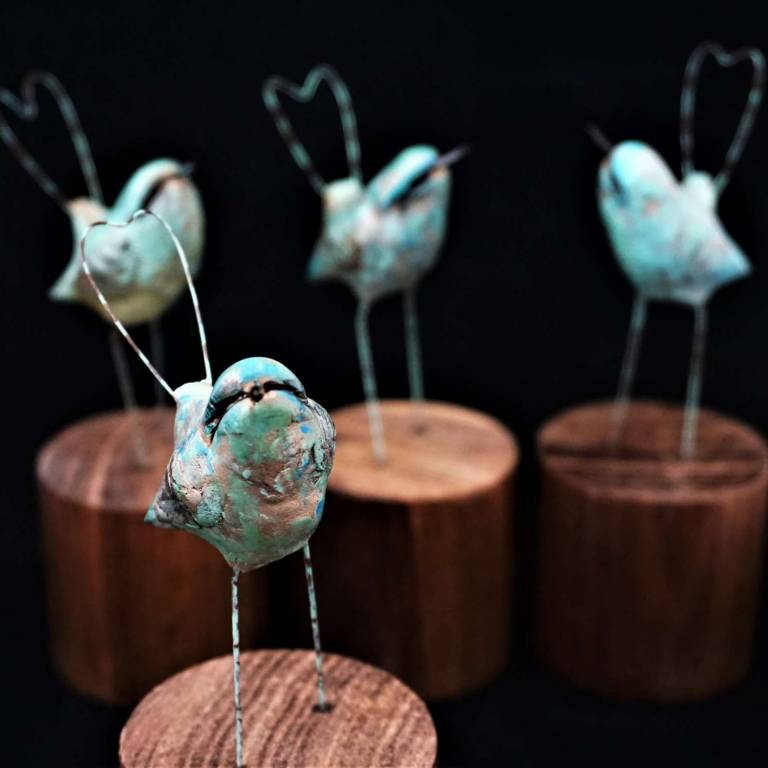 Robin Fox - Long Tail Passerine (Verdigris)