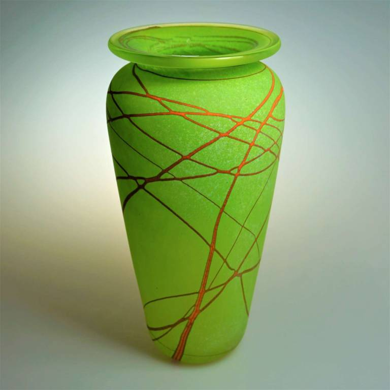 Shakspeare Glass - Random Classic Vase Medium Lime