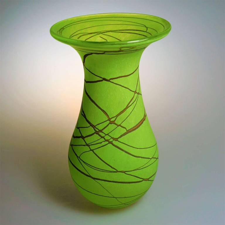 Will Shakspeare  - Random Flower Vase Medium Lime