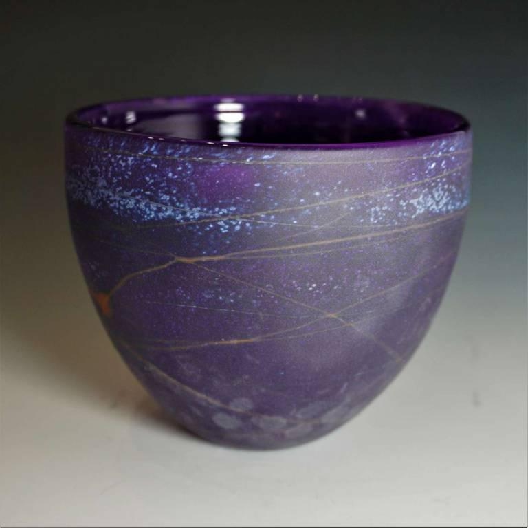 Will Shakspeare  - Random Medium Bowl Purple